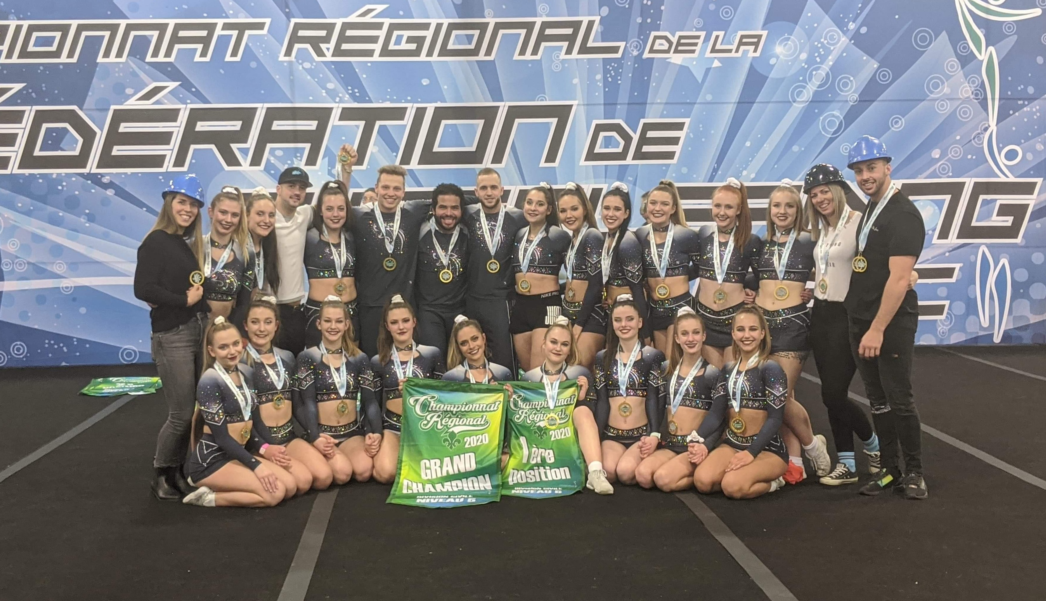 Candiac cheerleaders carry out regionally