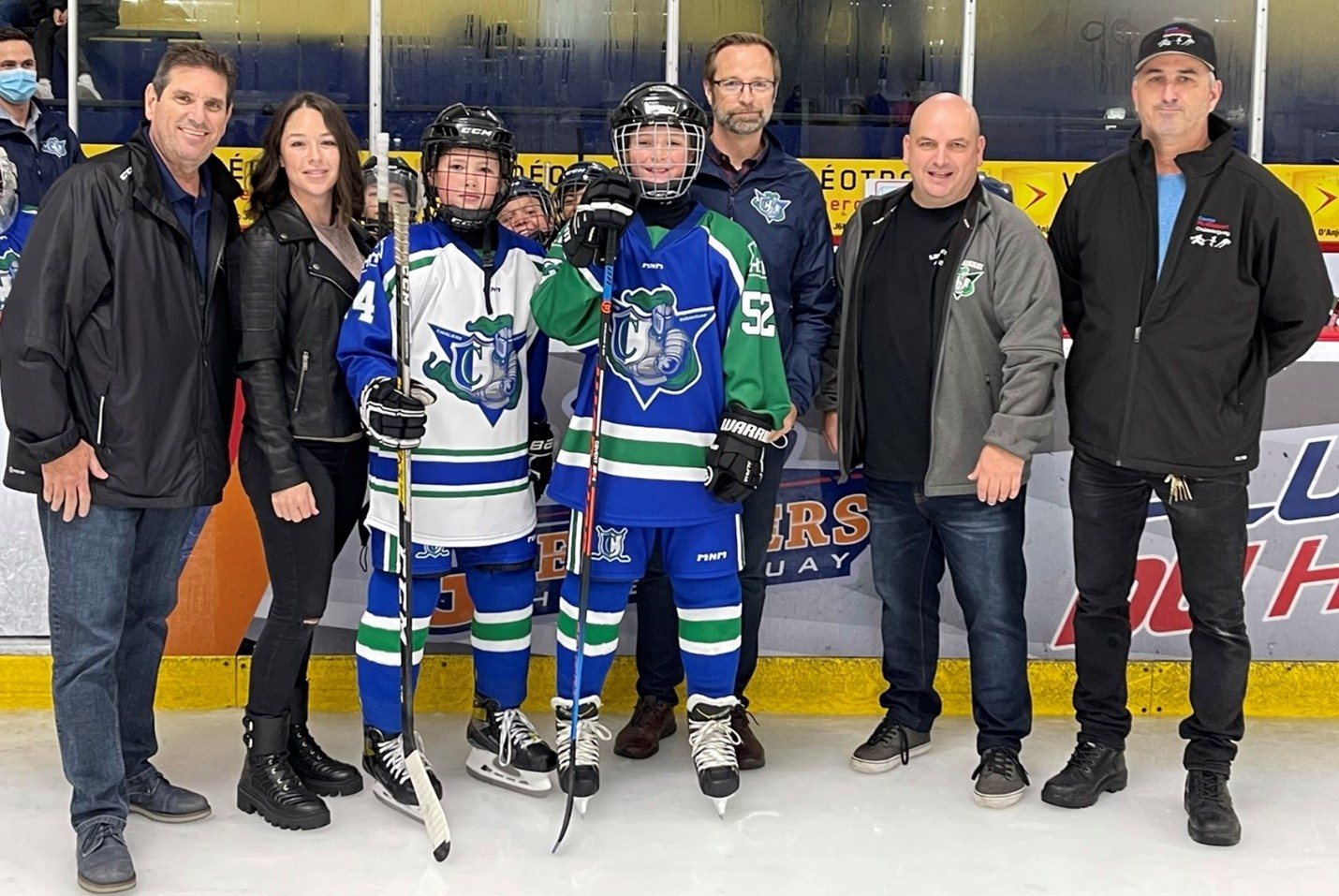 Le Soleil de Châteauguay |  Minor hockey is back in Châteauguay
